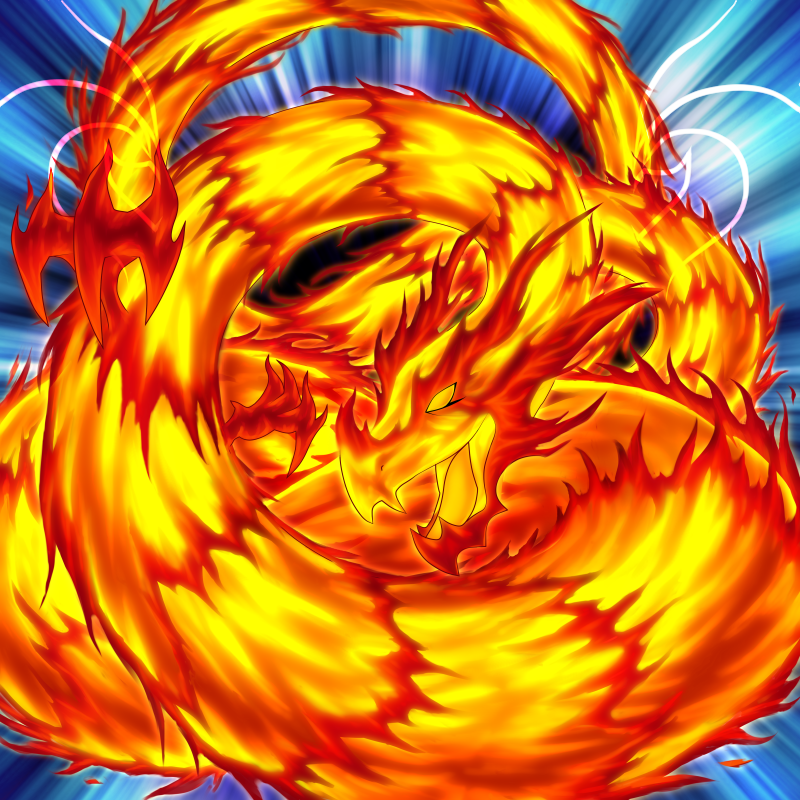 9 Dragon Flame Of Recca Dragons: Yugioh Favourites By JAM4077 On DeviantArt