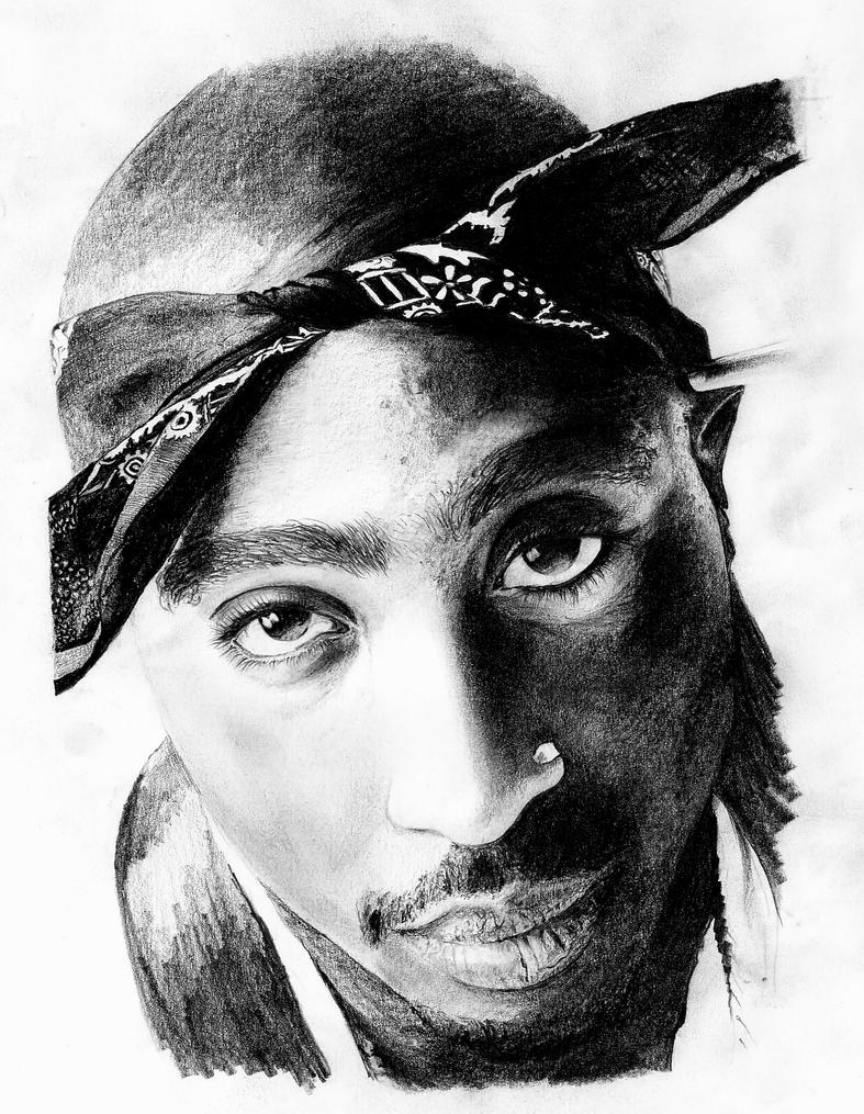 2Pac by Zalmay on DeviantArt