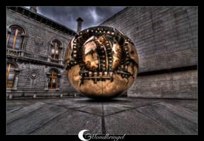 Ireland - Dublin Trinity HDR by Mondkringel