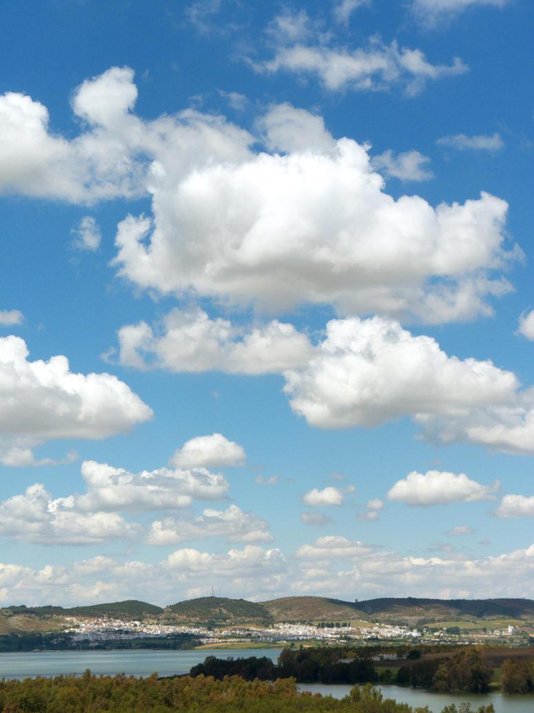 Bornos under sky by elbrujodelatribu
