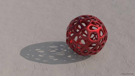 Voronoi Sphere by elbrujodelatribu