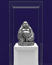 Silver Buddha by elbrujodelatribu