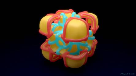 Funky Cube by elbrujodelatribu