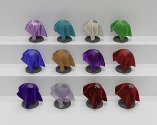 Fabric Materials by elbrujodelatribu