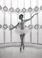 white balerina by SuzyTheButcher