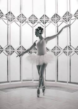 white balerina
