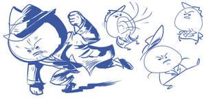 Ace Dick doodles