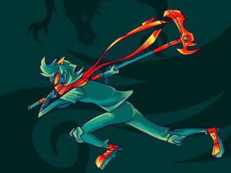 ninja Terezi by wafflebat