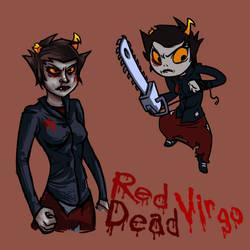 red dead Kanaya by wafflebat