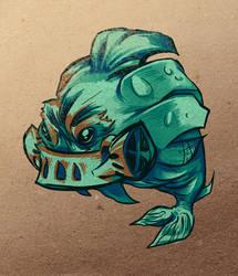 fishpunk by wafflebat