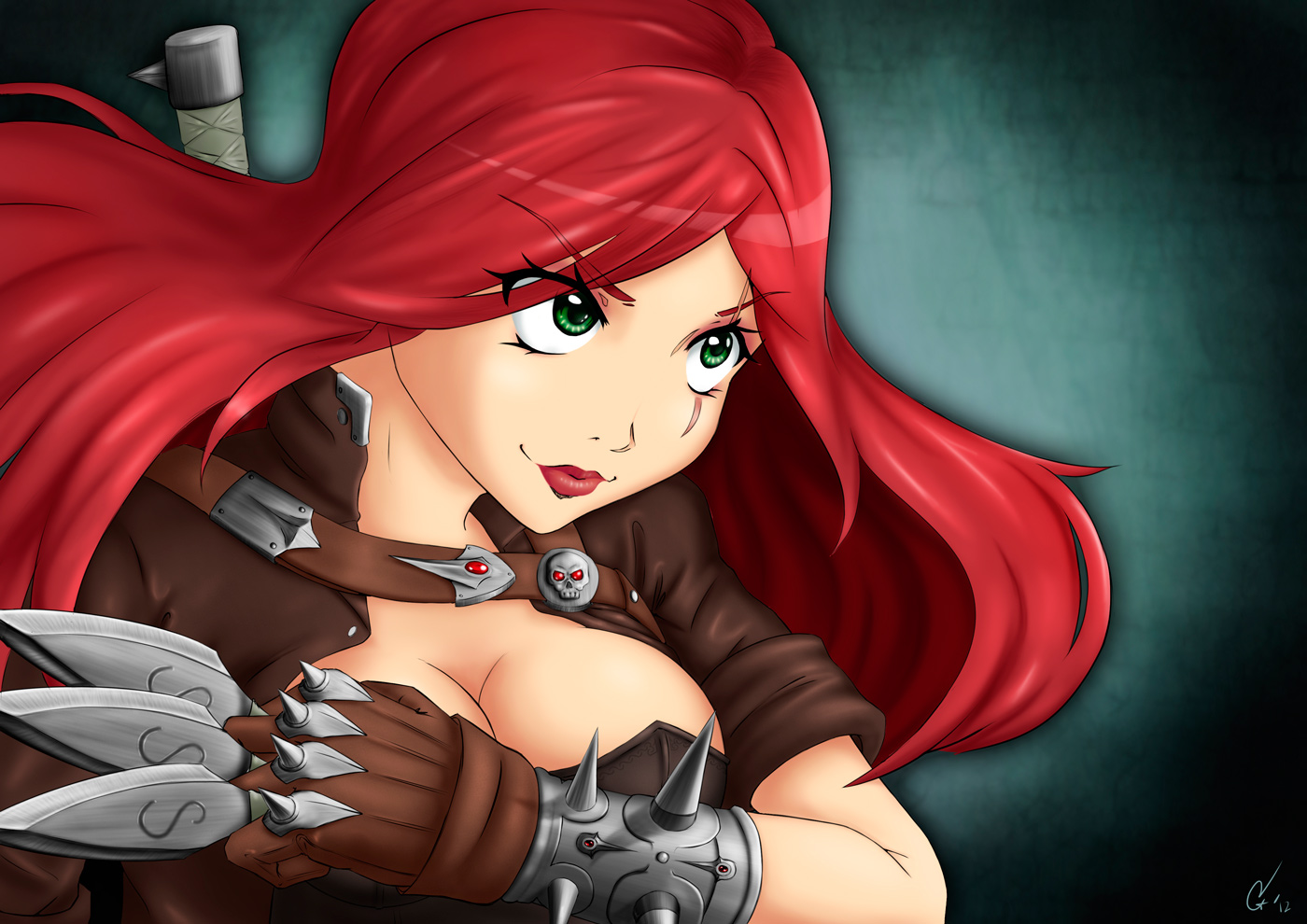 Katarina, the sinister blade Fan Art by AlSklad
