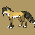 :Com: waggly tail animation by whicray