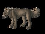 Lineless wolf