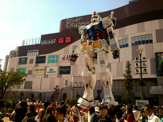 gundam in Tokyo by saitou-izumi