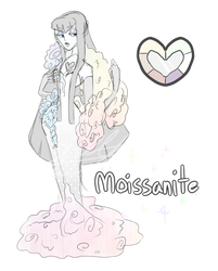 Moissanite by SheepPun