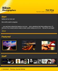 NikonPhotographers Journal WIP by sjaB