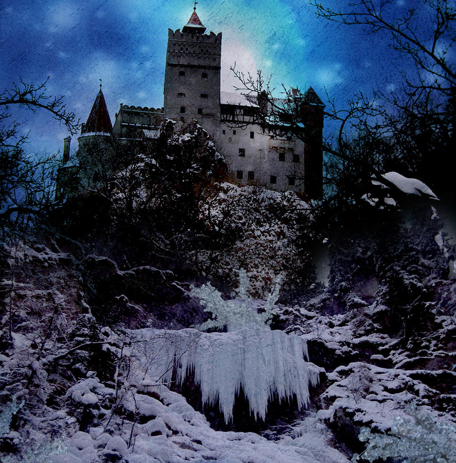 Image result for snowy castle