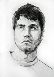 self portrait by CAGILATAS