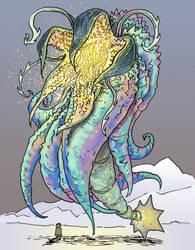 Monster sketch by davechisholm