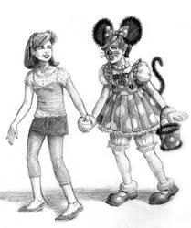 C'mon Minnie! It'll be fun.
