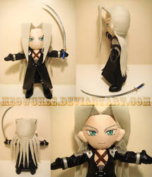 Sexy Sephiroth Plush by Meowchee