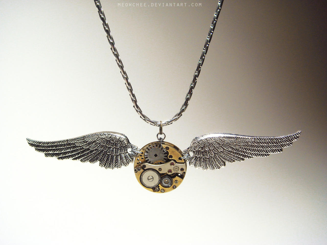 Steampunk Golden Snitch by Meowchee