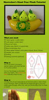 Giant Pear Plush Tutorial