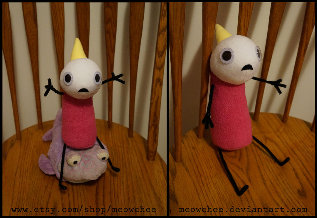 Hyperbole and a Half Plushie by Meowchee