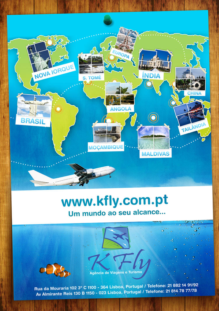 Travel Agency Poster by tatumtxi on DeviantArt