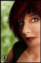 Portrait by namiociarz