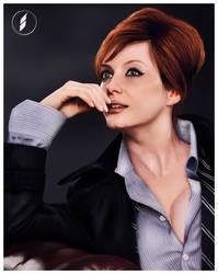 Christina Hendricks Portrait