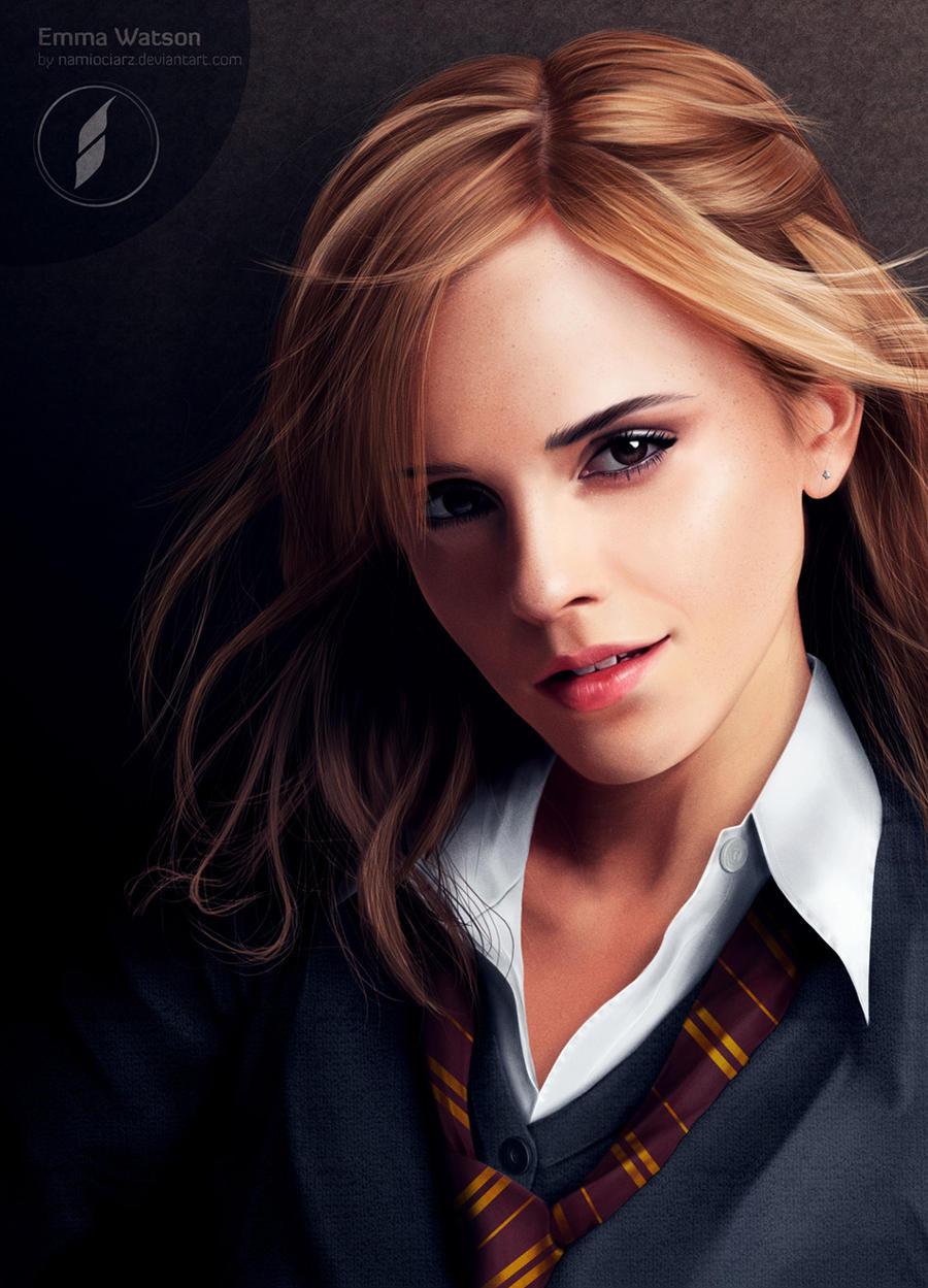 Emma Watson Portrait by namiociarz