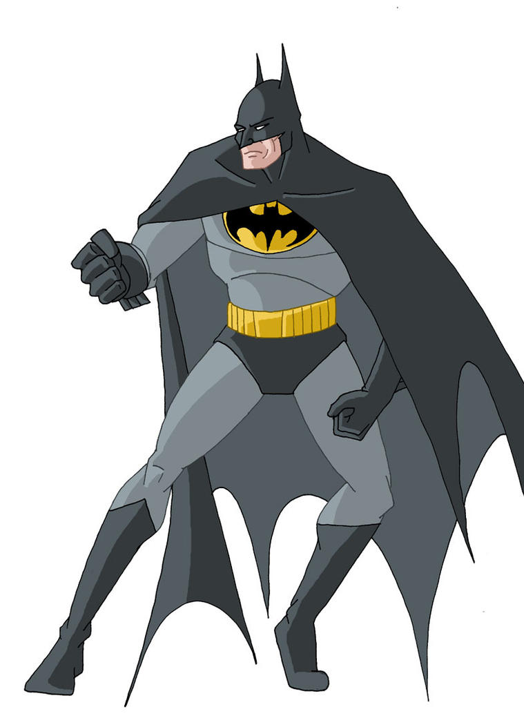 Batman animated style by b studios on deviantart - Batman cartoon images ...