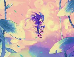 Fan art friday: Sonic - Magical world around me by Avishy