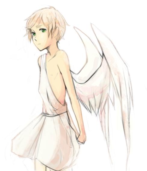 Kid Britannia Angel by SilentSeven