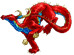 Pixel Dragon by dragonrise