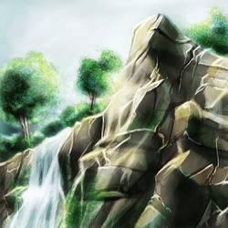 Cliffside Speedpaint