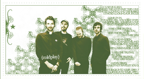 Coldplay by m4th
