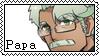 Macne Papa Stamp by Aleyra