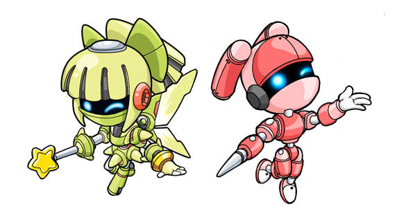Cute Robot Designs Cute Chibi Robots by