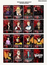 Venture Bros Cards by MelissaZappacosta