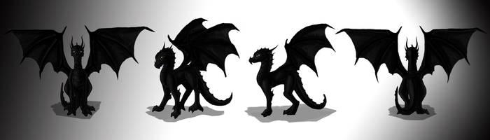 Dragon by MelissaZappacosta