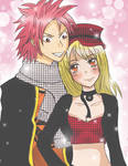 Natsu and Lucy_AT