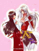 AT with Kairou-no-Kimi: Sesshomaru and Kagome by Yuri-chan24