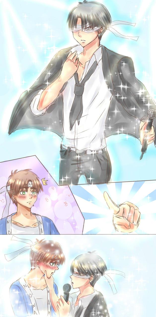 Italian Boy Name: AU_Levi_Eren_No Name Singer_Doodle By Yuri-chan24 On