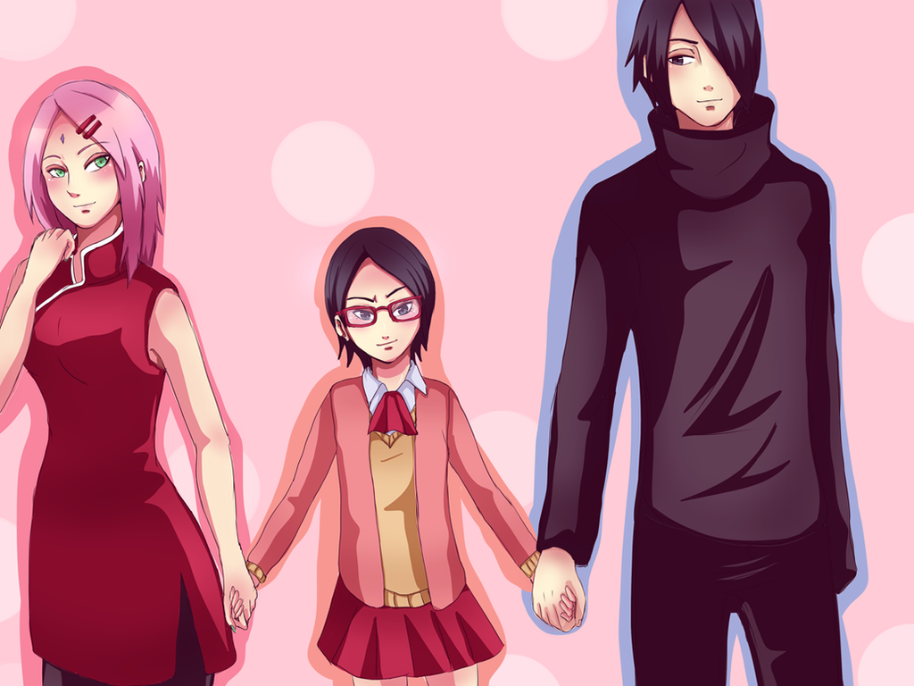 Uchiha Haruno Family_2 by Yuri-chan24 on DeviantArt