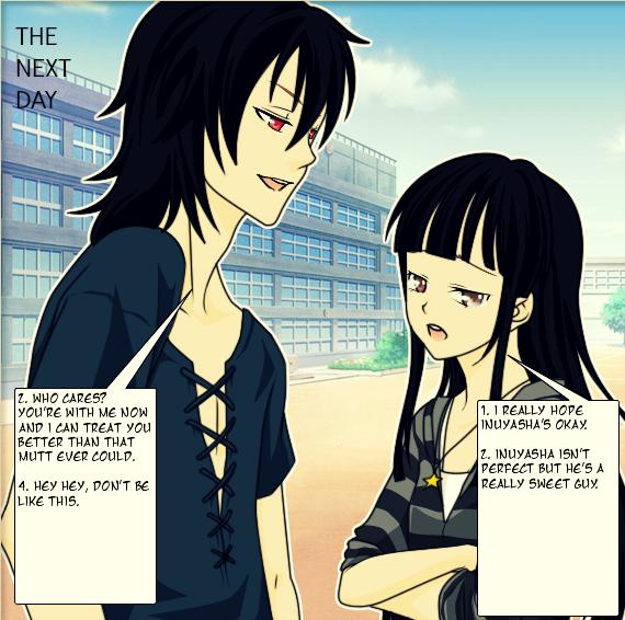 Kikyo And Naraku By Iampickled