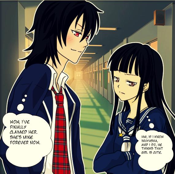Inuyasha Jakotsu And Naraku: Kikyo And Naraku By Iampickled On DeviantArt
