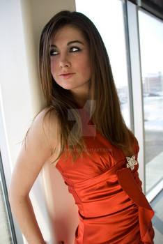 Amanda red dress3