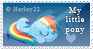My little pony Stamp by crystalcleargfx